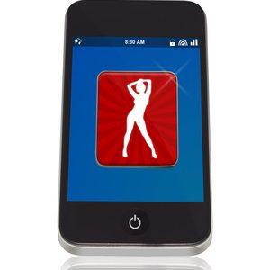 Smartphone mit Erotik App